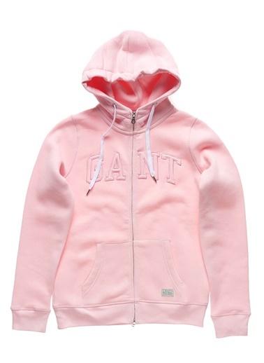 Kapüşonlu Polar Sweatshirt Gant